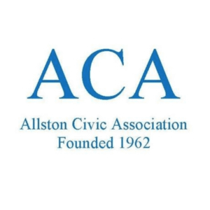 Logo of the Allston Civic Association, founded in 1962