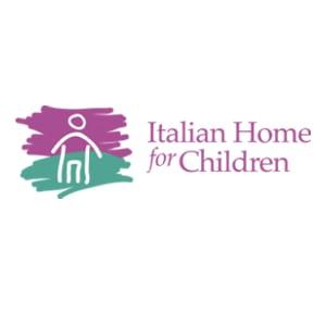 Logo for the Italian Home for Children which houses the Brighton-Allston Mental Health Center