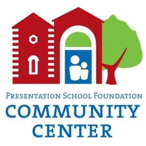 Logo for Presentation School Foundation Community Center